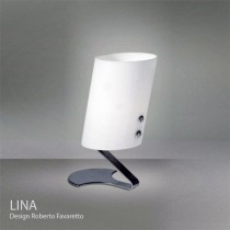 LINA, lampe de table, H 24 cm, Design Roberto Favaretto