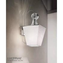 LUCERNAE PA1 , Applique verre RIGADIN, Design Romani Saccani