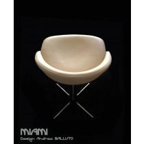 Tabouret MIAMI CU, Design Adriano BALUTTO pour MIDJ