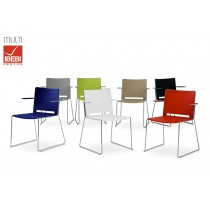Chaises empilables MULTI BR, Accoudoirs, IBEBI Design