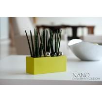 Jardinière NANO, 14x34x14 cm, Studio VONDOM