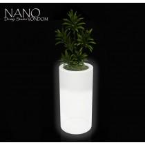 Vase NANO Cylindre Haut Leds, H 36 cm, Design by Studio VONDOM