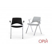 Chaise empilable pliante OPLA BR, IBEBI Design