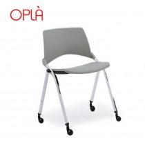 Chaise pliante à roulettes OPLA R, IBEBI Design