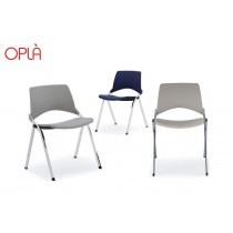 Chaise empilable pliante OPLA, IBEBI Design