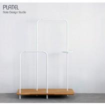 PLATEL, meuble de rangement, Chêne, 116x166  cm, Note Design Studio