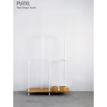 PLATEL PLT101 + PLT201, meuble de rangement, Chêne, 116x166  cm, Note Design Studio