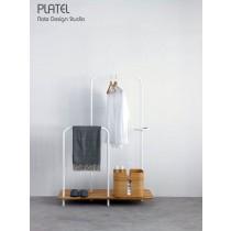 PLATEL, meuble de rangement, Chêne, 116x166  cm,  avec PLT 202 et PLT 201, Note Design Studio