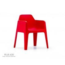 Fauteuil empilable PLUS 630, Design Alessandro BUSANA