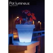 Grand Pot lumineux LED, H 47 Cm Ø 50 cm, Design by LED-On