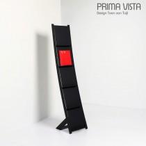 Porte brochures PRIMA VISTA, H 161 cm, Design Toon van TUIJL