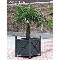 Bac à Palmier PROVINCE, 80X80 cm, Acier galvanisé, ProCity