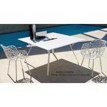 Table RADICE QUADRA, Aluminium Indoor/Outdoor, 90x90 Cm, FAST Spa