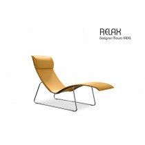 Fauteuil RELAX, Cuir, Design Mauro FADEL
