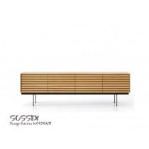 Buffet SUSSEX 411 plaqué Chêne mat Design Terence Woodgate