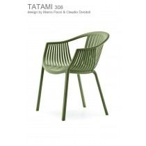 Fauteuil empilable TATAMI 306, Designers Claudio Dondoli and Marco Pocci