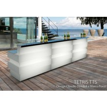 Bar TETRIS TTS, 3 modules, Designers Claudio Dondoli and Marco Pocci
