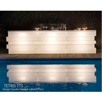 Bar TETRIS TTS, 3 modules avec éclairage, Designers Claudio Dondoli and Marco Pocci