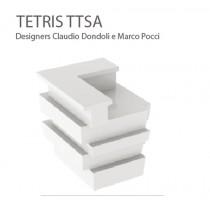 Bar d'angle TETRIS TTSA, Designers Claudio Dondoli and Marco Pocci
