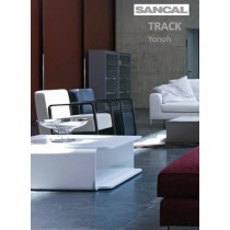 Table basse TRACK, 70x70 cm, Designer YONOH