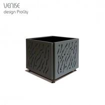 Bac à Palmier VENISE, 80X80 cm H 60 cm, Acier galvanisé, ProCity