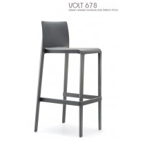 Tabouret empilable VOLT 678, Design CLAUDIO DONDOLI AND MARCO POCCI