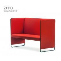 Banquette ZIPPO, L 142 cm, H 100 cm, Design Pedrali R&D