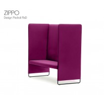 Banquette ZIPPO, L 142 cm, H 140 cm, Design Pedrali R&D