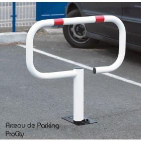 Arceau de Parking ROBUSTOP, Acier laqué sur Zinc, Design ProCity