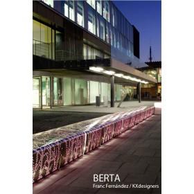 Banc en Aluminium BERTA, Design FRANC FERNÁNDEZ + KX DESIGNERS