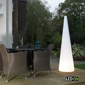 Grand Cone LED Rechargeable H 180 Cm, Design by LED-On