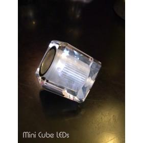 """Cube """"Crystal"""" LEDs à télécommande, Design by Blue Ocean"""