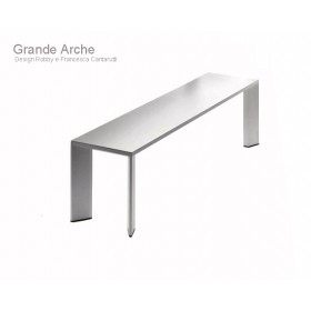 Banc Grande ARCHE en Aluminium 120 Cm, FAST Spa
