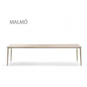 Table extensible MALMÖ, Frêne, 190 à 290 x 90 cm, Designers Cazzaniga - Mandelli - Pagliarulo