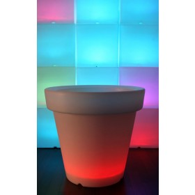 Grand Pot  lumineux LED,  H 60Cm Ø 66 cm, Design by LED-On