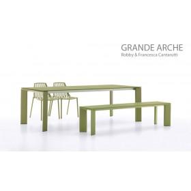 Banc Grande ARCHE en Aluminium 180 Cm, FAST Spa