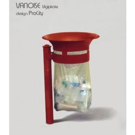 Corbeille VANOISE, Vigipirate 40 L, ProCity