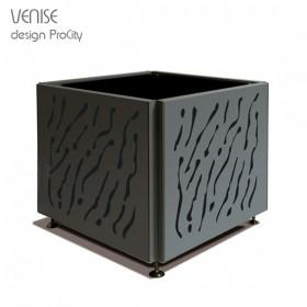 Bac à Palmier VENISE, 120X120 cm H 90cm, Acier galvanisé, ProCity