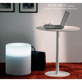 Tabouret lumineux WOW 485 E, Designers Claudio Dondoli and Marco Pocci